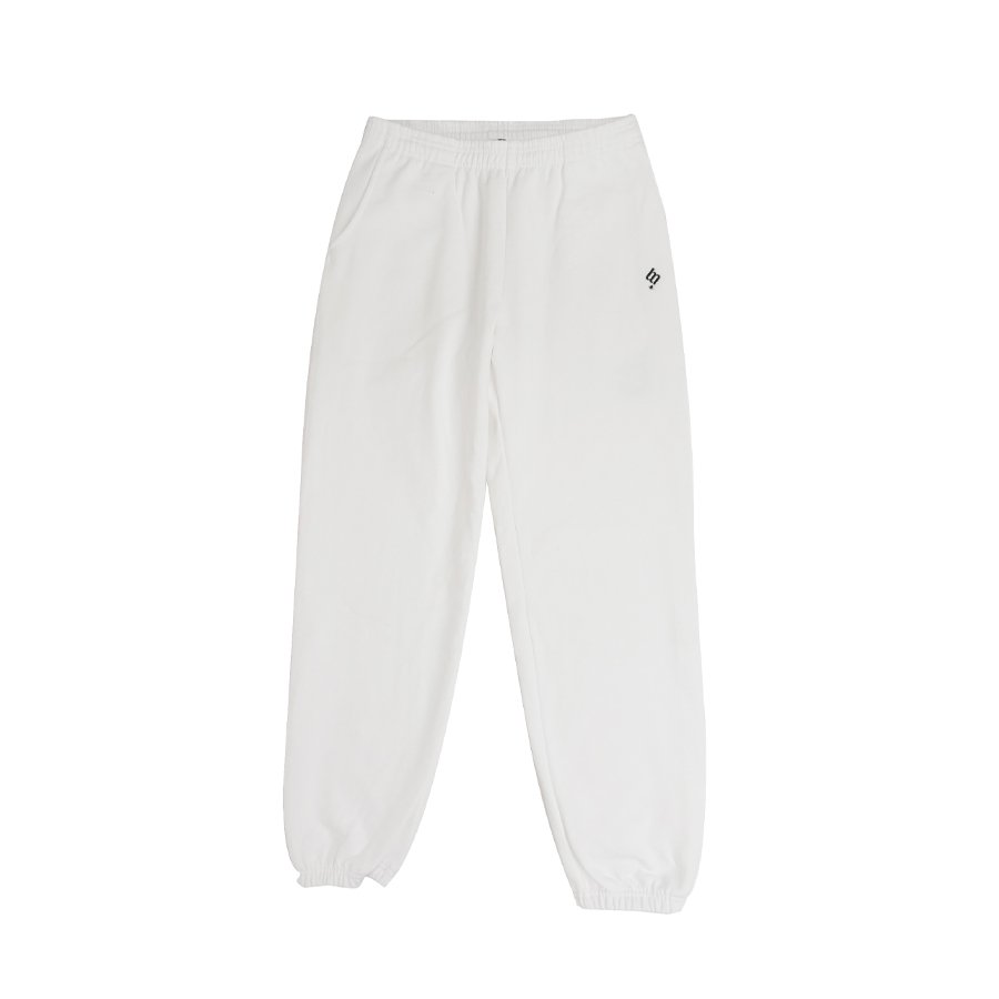 <img class='new_mark_img1' src='https://img.shop-pro.jp/img/new/icons8.gif' style='border:none;display:inline;margin:0px;padding:0px;width:auto;' />BROOKLYN MACHINE WORKS - BROOKLYN SWEAT PANTS - WHITE