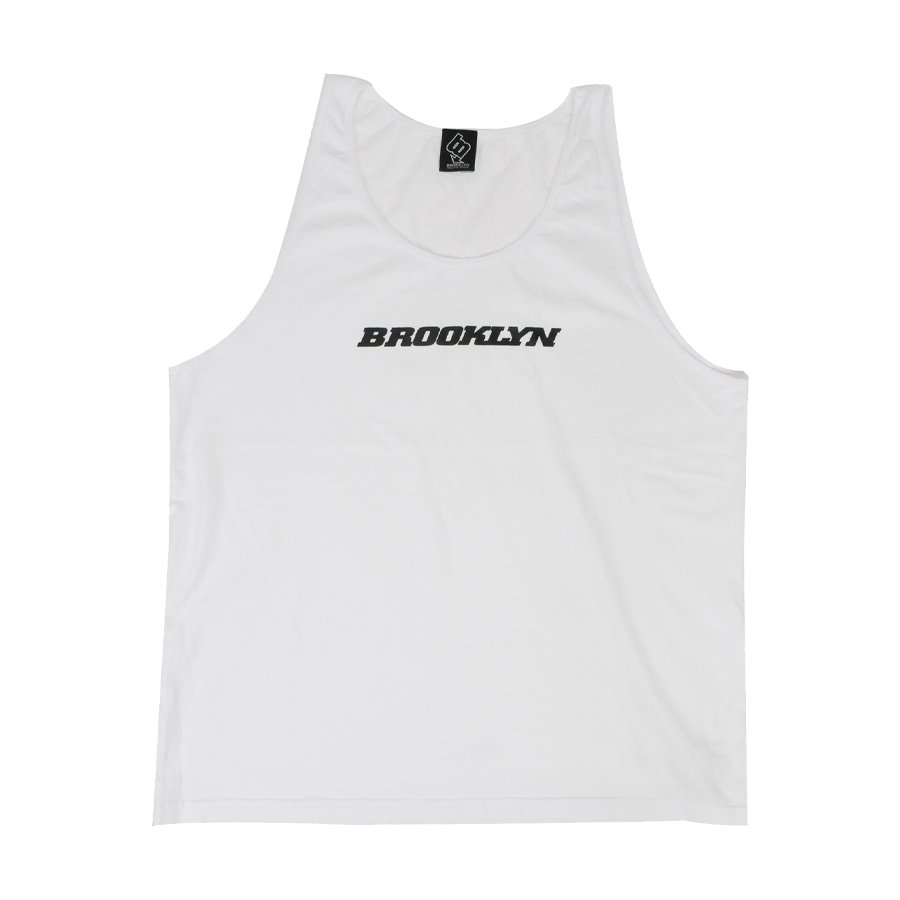 BROOKLYN MACHINE WORKS - BROOKLYN TANK TOP - WHITE