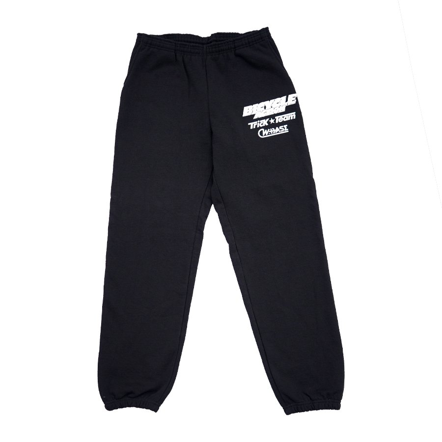 <img class='new_mark_img1' src='https://img.shop-pro.jp/img/new/icons8.gif' style='border:none;display:inline;margin:0px;padding:0px;width:auto;' />W-BASE - DO A TRICK SWEAT PANTS BLACK