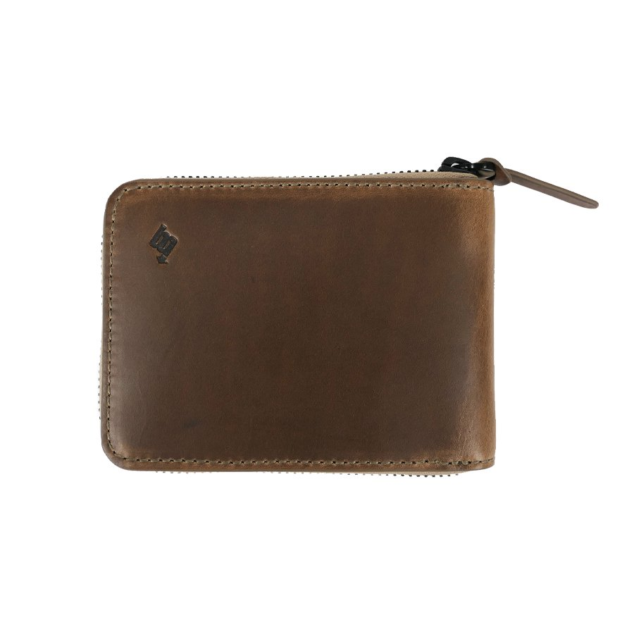 BROOKLYN MACHINE WORKS - MEDIUM WALLET NATURAL