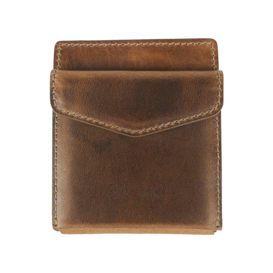 BROOKLYN MACHINE WORKS - MONEY CLIP WALLET NATURAL