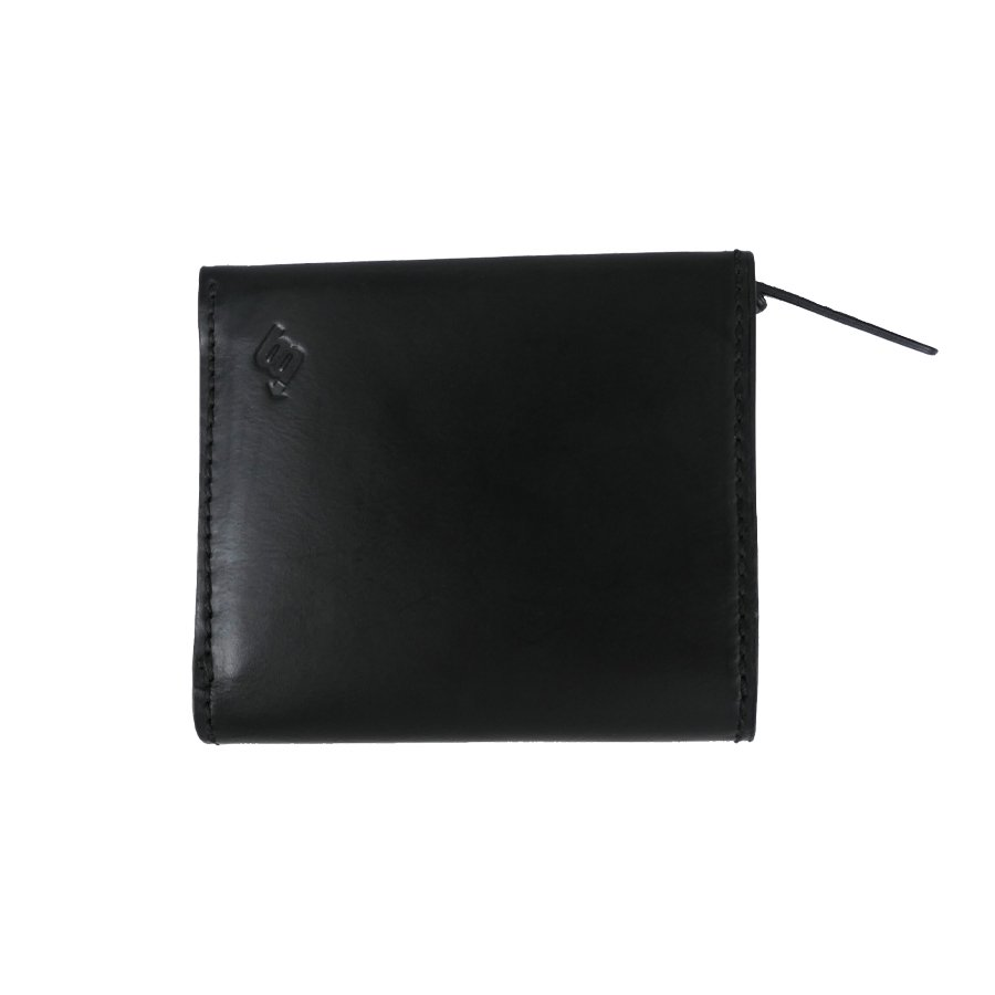 BROOKLYN MACHINE WORKS - MICRO WALLET ( FOLDED ) BLACK
