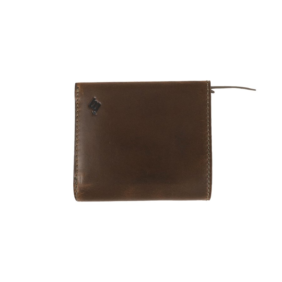 BROOKLYN MACHINE WORKS - MICRO WALLET ( FOLDED ) NATURAL