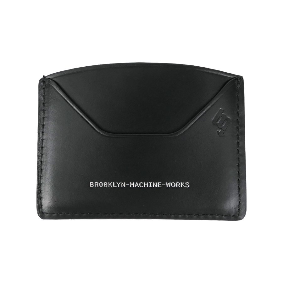 BROOKLYN MACHINE WORKS - CARD CASE BLACK