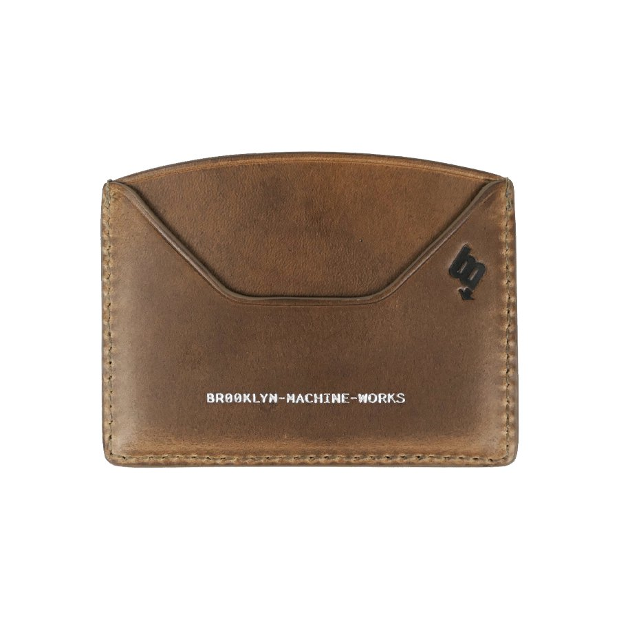 BROOKLYN MACHINE WORKS - CARD CASE NATURAL