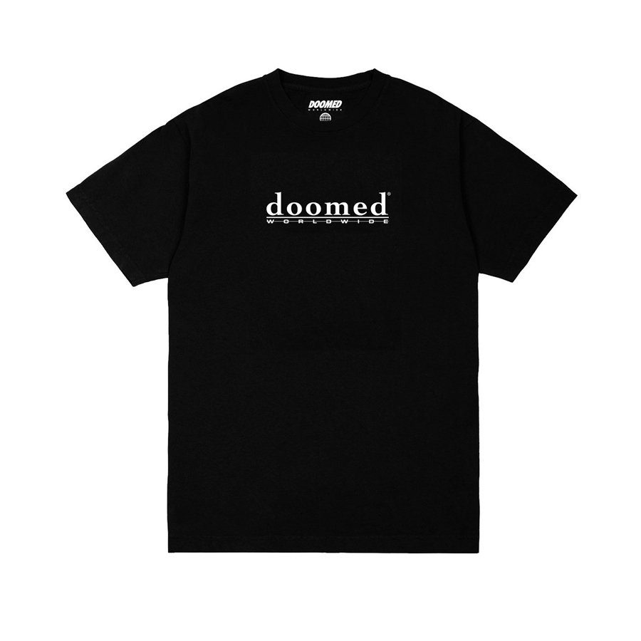 <img class='new_mark_img1' src='https://img.shop-pro.jp/img/new/icons2.gif' style='border:none;display:inline;margin:0px;padding:0px;width:auto;' />DOOMED - ODELATE TEE/Black