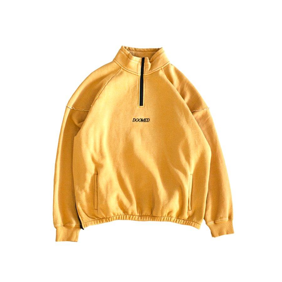 DOOMED - TRUCK HALF ZIP/Yellow
