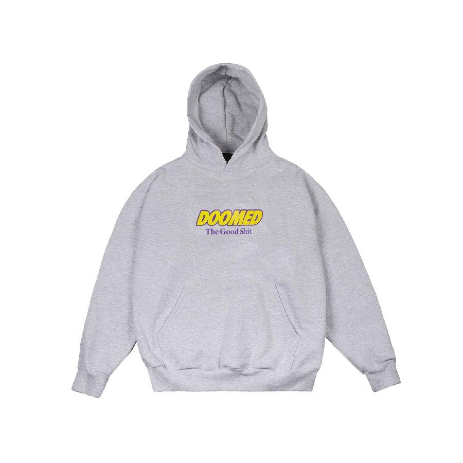 DOOMED - THE GOOD SHIT HOODY/Grey