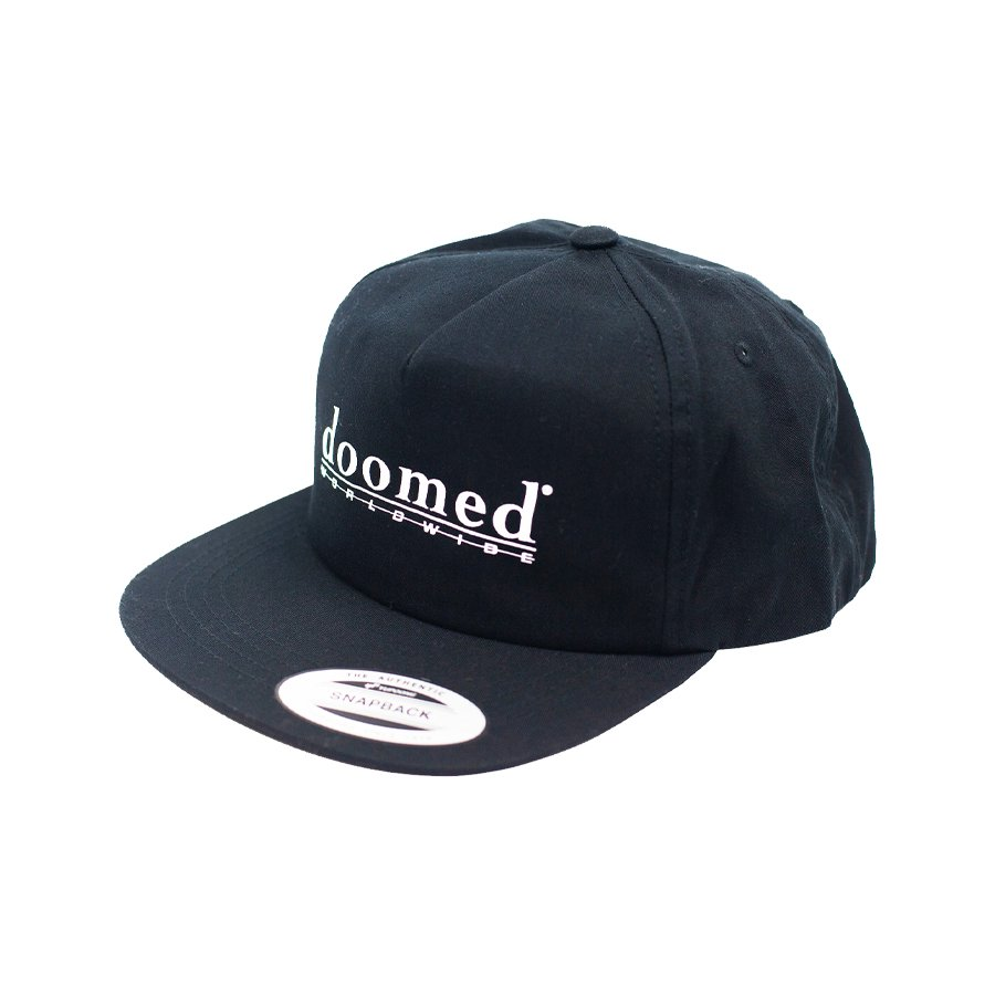 DOOMED - ODELATE CAP 5 PANEL UNCONSTRUCTED/Black