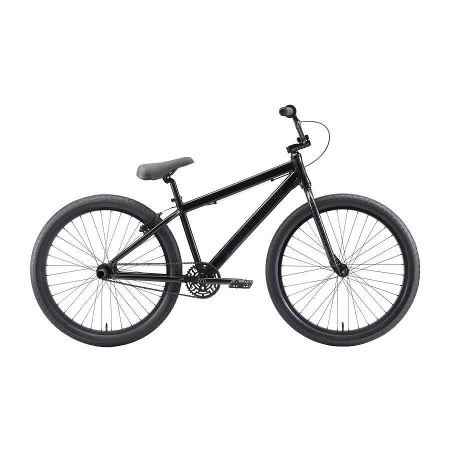 <img class='new_mark_img1' src='https://img.shop-pro.jp/img/new/icons12.gif' style='border:none;display:inline;margin:0px;padding:0px;width:auto;' />SE BIKES - BLOCKS FLYER 26 STEALTH MODE BLACK