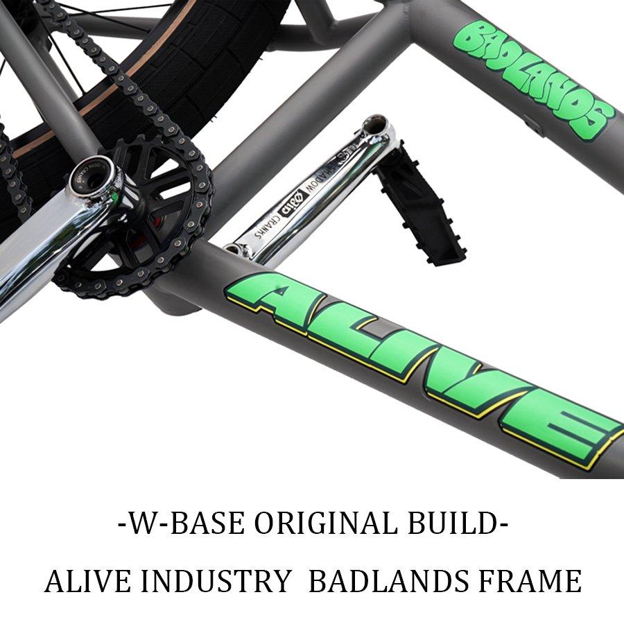 W-BASE ORIGINAL BUILD - ALIVE INDUSTRY BADLANDS