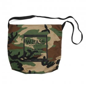 CRANK x W-BASE SACOSHE WOOD LAND CAMO