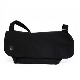 CRANK - SLASH MESSENGER BAG L - BLACK