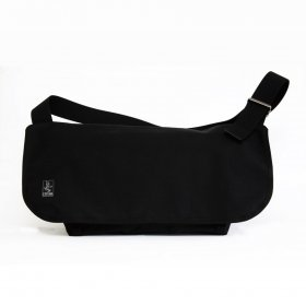 CRANK - SLASH MESSENGER BAG M - BLACK