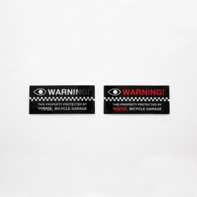 W-BASE WARNING STICKER