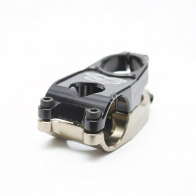 RENTHAL - DUO STEM ALU - 50mm - GOLD / BLACK