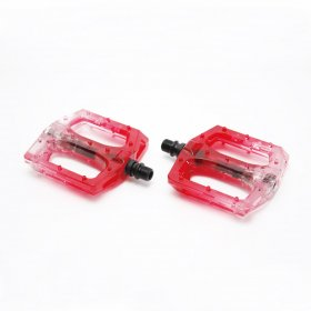 SALT PLUS STEALTH NYLON PEDAL TRANS RED LOOSEBALL