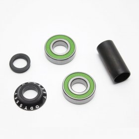 ODYSSEY - MID BOTTOM BRACKET SET - 19mm - BLACK