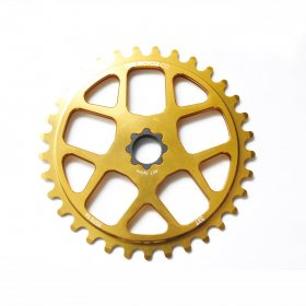 LITE SPROCKETS 19mm SPLINE DRIVE 33T  GOLD