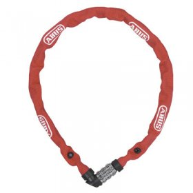 ABUS - 1200 LOCK CHAIN COMBINATIONS - 650mm - RED
