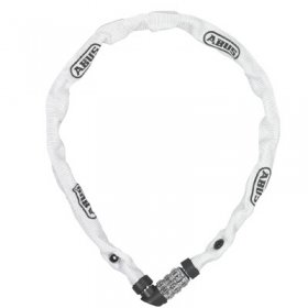 ABUS - 1200 LOCK CHAIN COMBINATIONS - 650mm - WHITE