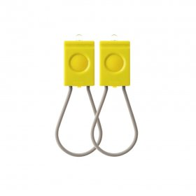 BOOKMAN USB LIGHT MOON YELLOW 前後セット