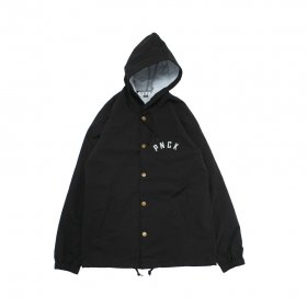 PANCAKE RAIN COAT BLACK