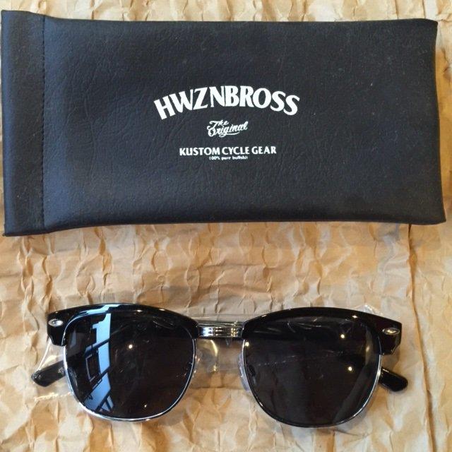 HWZNBROSS CMT SUNGLASS ブラック