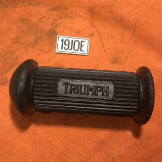 フットペグラバー Triumphブロックレター