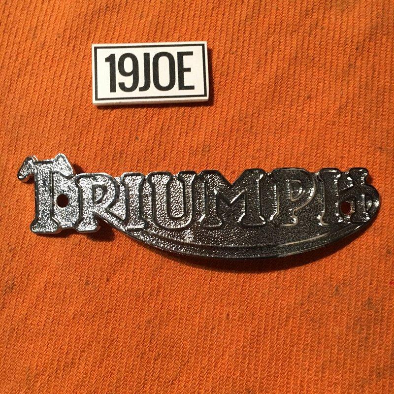 Triumphタンクバッジ 38-56年