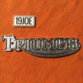 Triumphタンクバッジ 73-81年