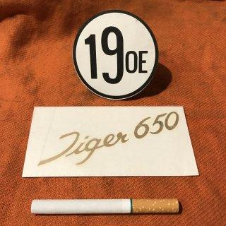サイドカバーデカール Tiger650