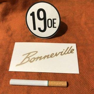 サイドカバーデカール Bonneville