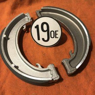 ブレーキシューセット 54-70年7インチドラム