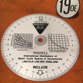 タイミングディスク Wassell