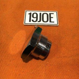 フォークトップナットクローム 59-62年T110/120  57-63年T100/3TA/5TA