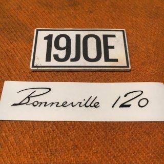 ウォーターデカール Bonneville120