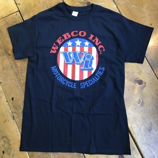 WEBCO MotorCycle T-shirt BLK Msize