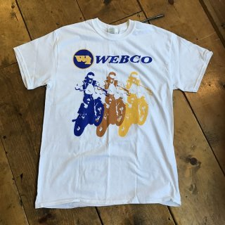 WEBCO MX T-Shirt WHITE Msize