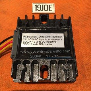 PODTRONICS シングルフェーズ12Vハイアウトプットレギュレーター