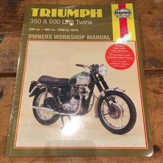 HAYNESマニュアル Triumph 58-73年350/500ユニット