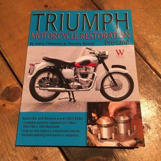 Triumph Mortorcycle Restoration Pre-Unit