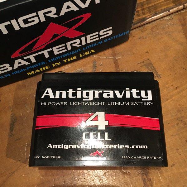 ANTIGRAVITY リチウムバッテリー AG-401