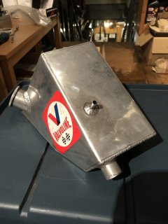 Webco style Alloy OIL TANK for Any TRIUMPH and Other Custom M/C