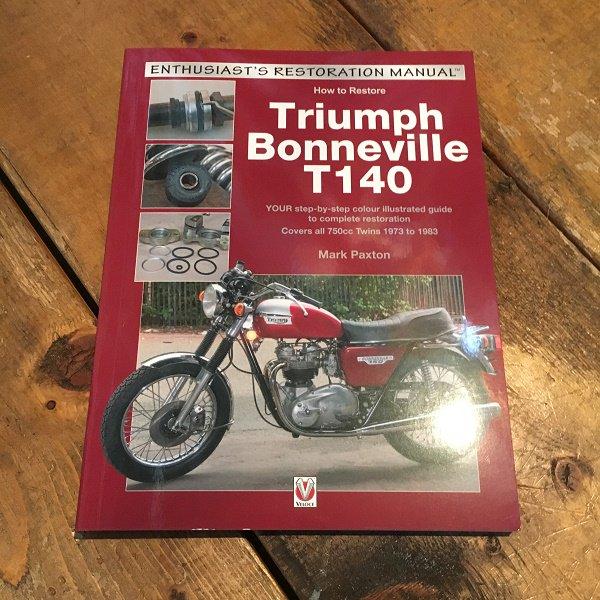 How To Restore Triumph Bonneville T140 トライアンフ 旧車 パーツ