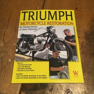 TRIUMPH MOTORCYCLE RESTORATION [UNIT TWIN]
