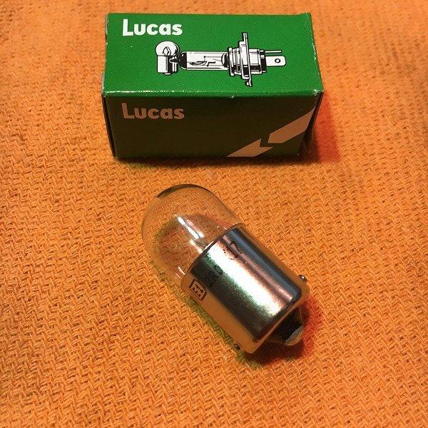LUCAS テールバルブ 6Vシングル球 LL205