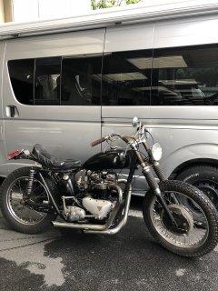 1958 Pre-Unit650 Custom