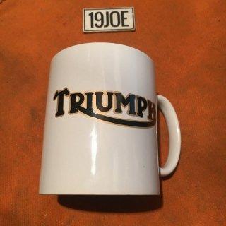 マグカップ Triumphゴールドレター