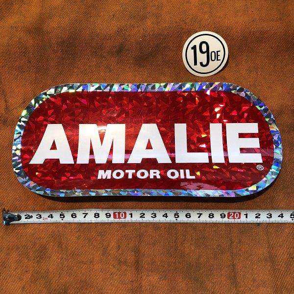 AMALIE ステッカー C